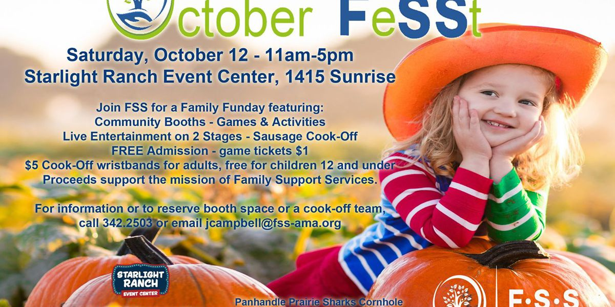 Mark your calendars for October FeSSt with Family Support Services