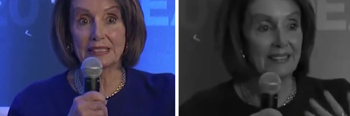 Doctored video of Nancy Pelosi shared widely on social media