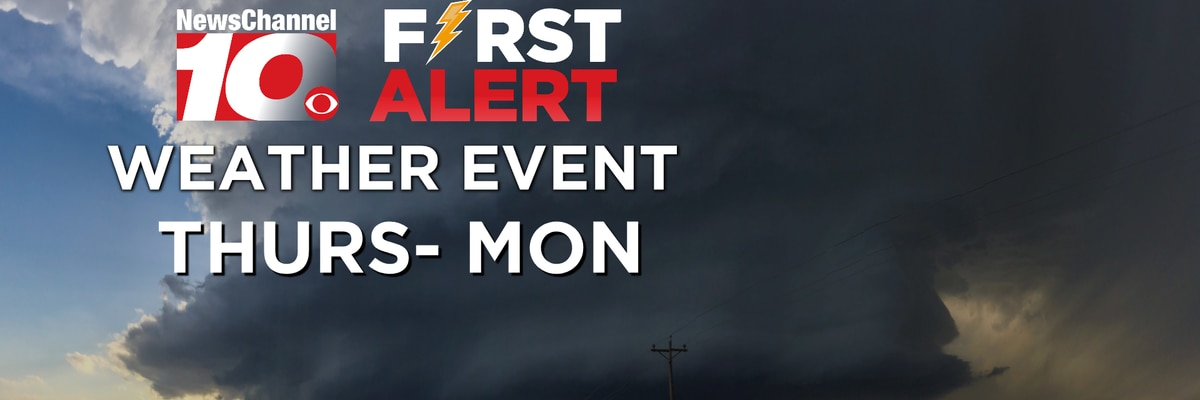 FIRST ALERT: Severe storms in progress, more on the way