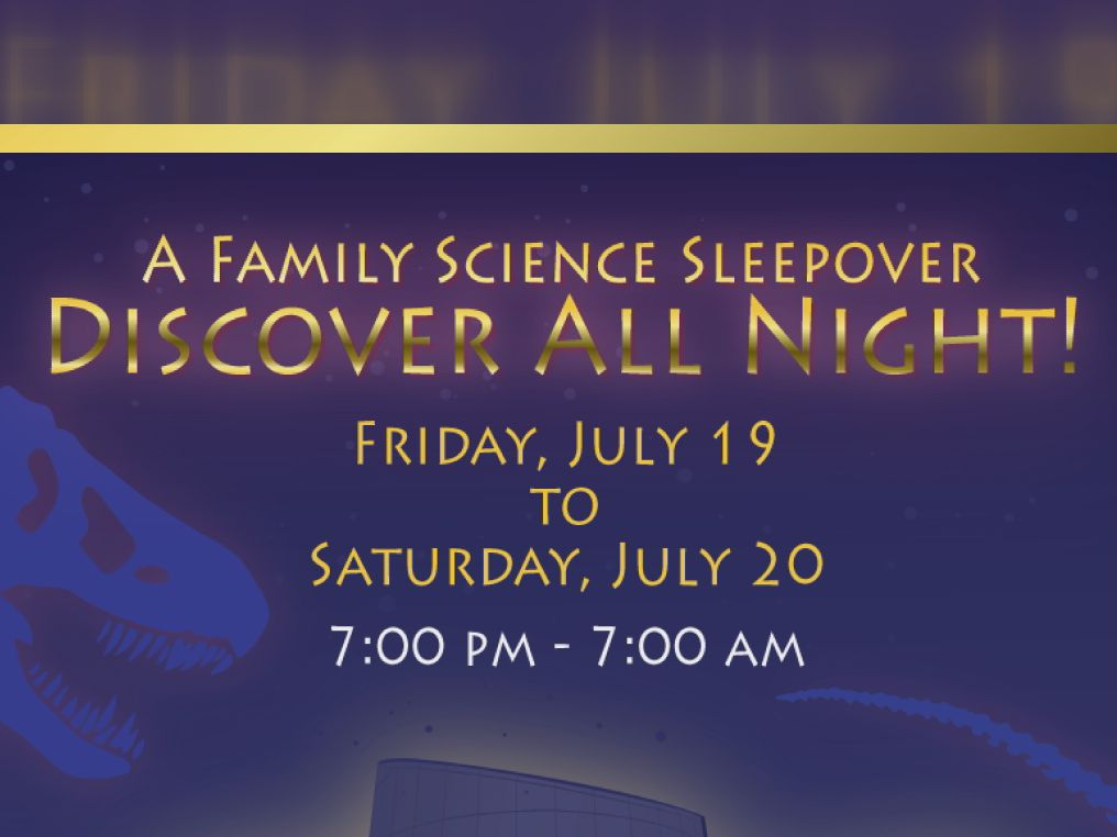 Don Harrington Discovery Center to host family sleepover night