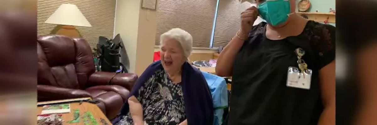 Video: 'It's just my joy': woman strives to keep things positive at Bivins Pointe