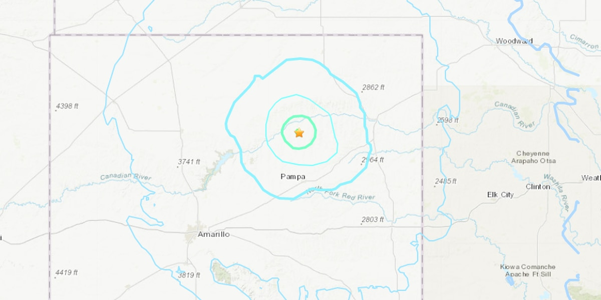 4.3 magnitude earthquake hits near Skellytown