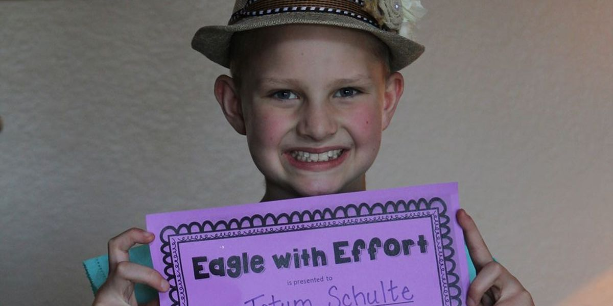 Canyon ISD students spread positive message with Tatum Tough Kindness Challenge