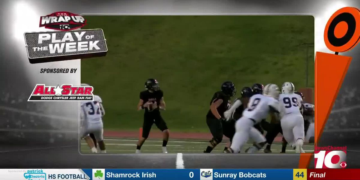 THE WRAP UP - Week 6 play of the week