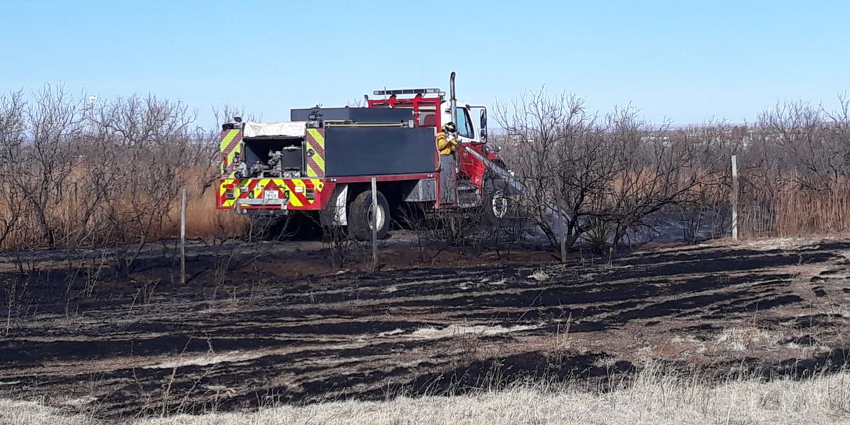 Grass fire on Tule Drive under control