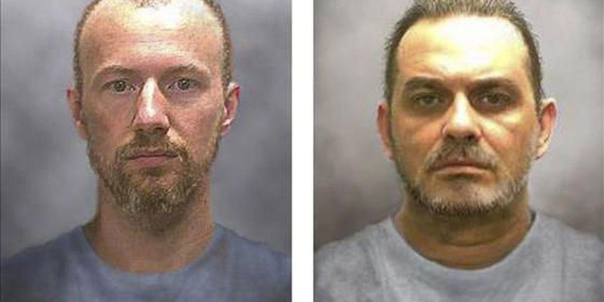 Buscan a presos fugitivos a 30 millas de la prisión