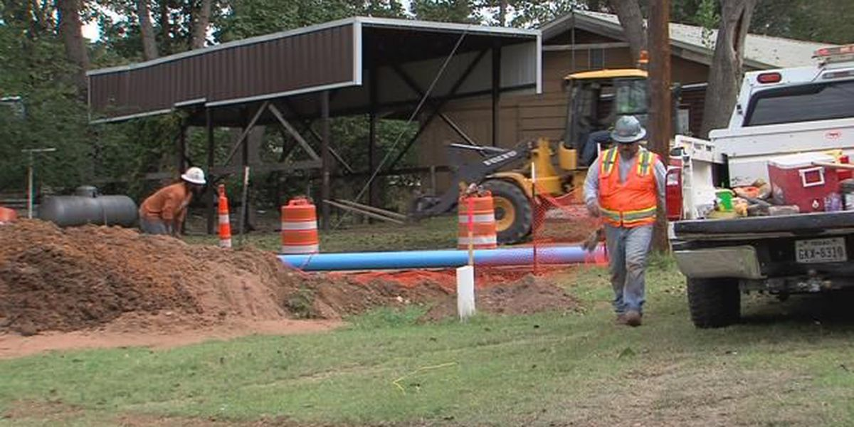 Fritch installing new water main lines citywide
