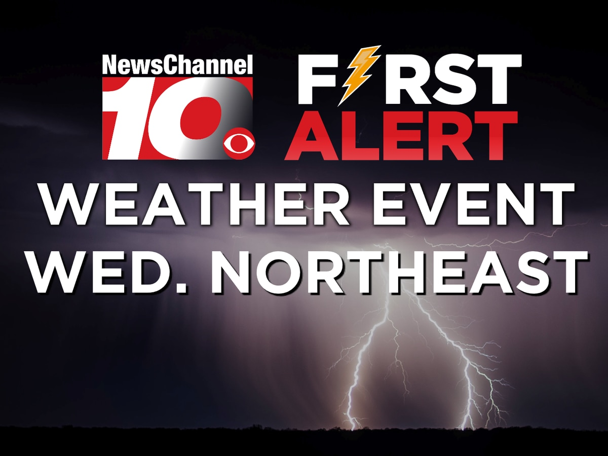 FIRST ALERT: Strong storms likely across north and northeastern Panhandles Wednesday