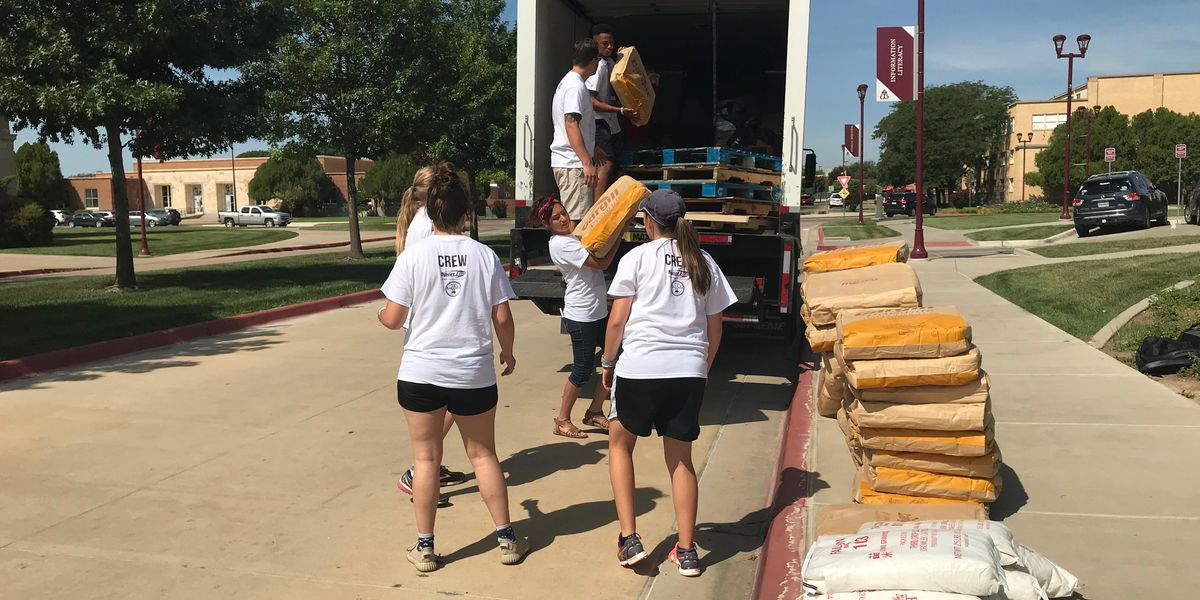 WT students help feed those in need by giving back to the community