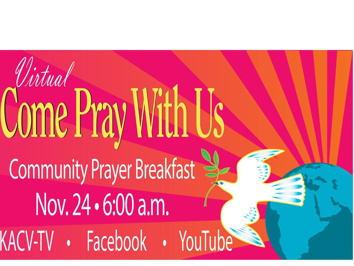 Amarillo Community Prayer Breakfast to be held virtually this year