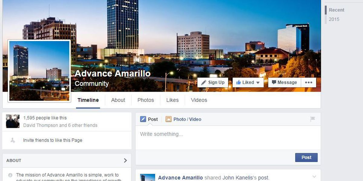 Advance Amarillo rallies support for downtown projects