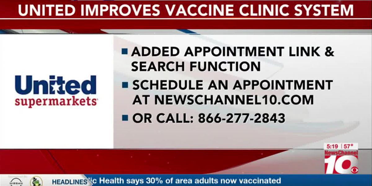 VIDEO: United Supermarkets upgrades COVID-19 vaccine clinics