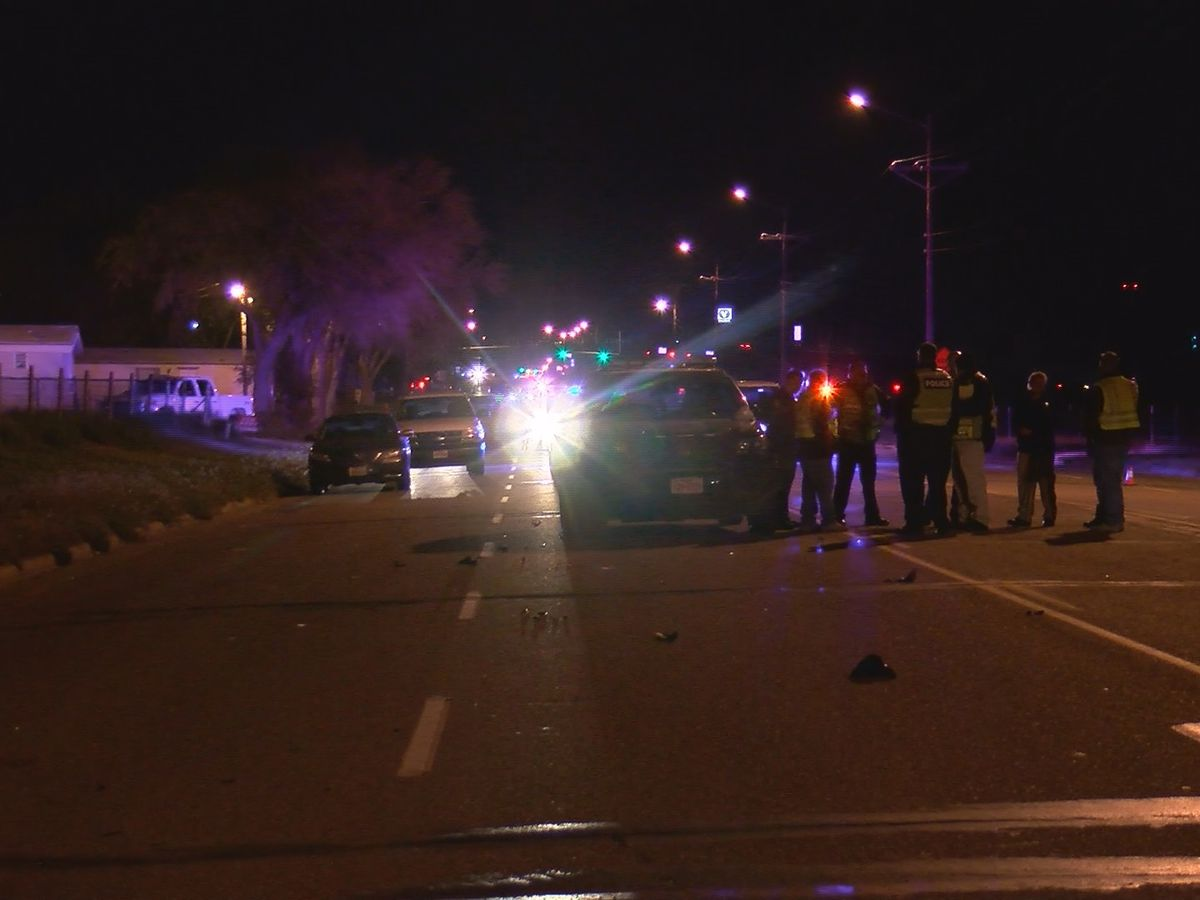 Motorcycle driver suffers life-threatening injuries in crash on Bell near Arden