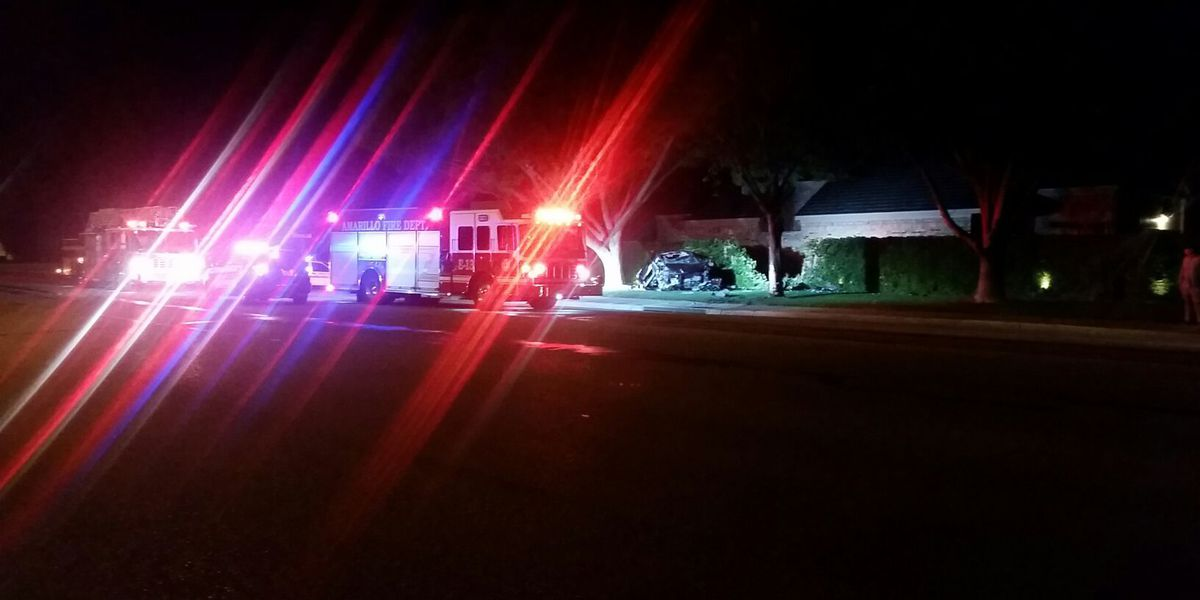 1 man arrested and 1 female sent to hospital after an evening traffic accident