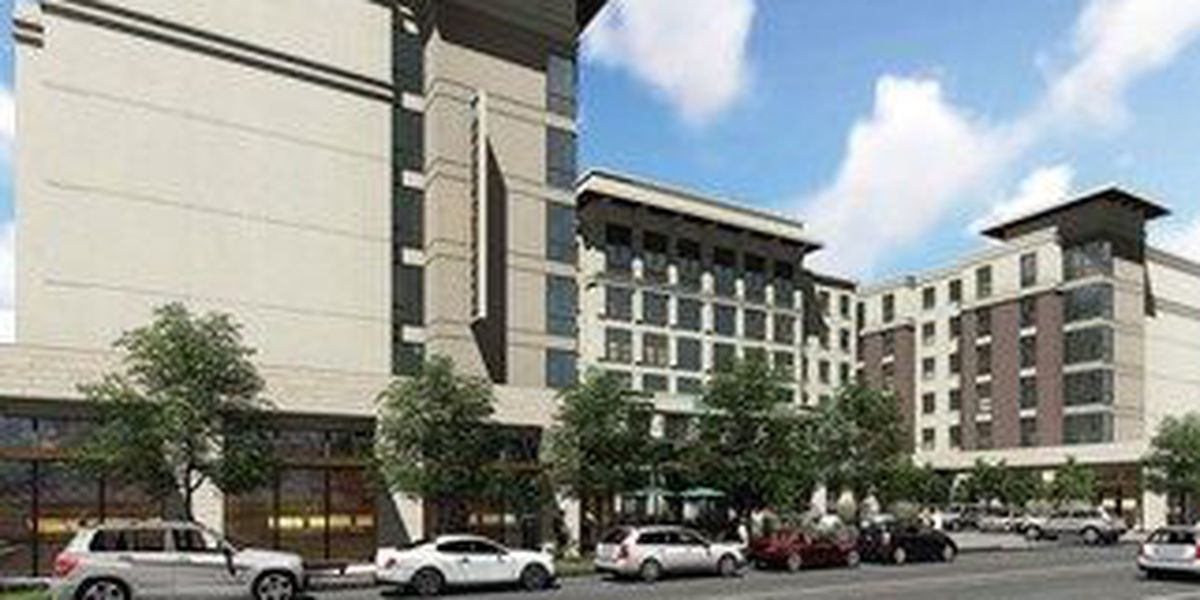 City unveils first design renderings for downtown convention hotel