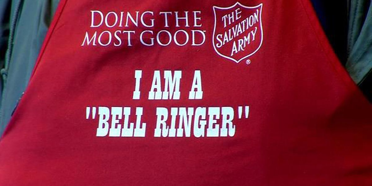 Number of volunteer bell ringers declines because of weather