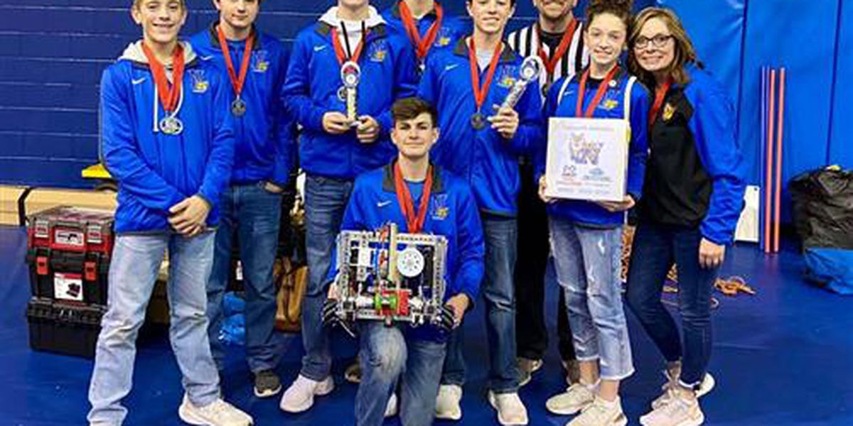 Nazareth's rookie robotics team competing for first time in World Championship
