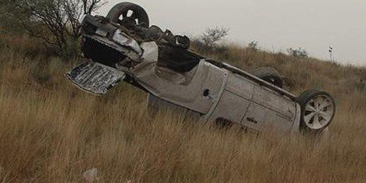 Two in critical condition after rollover accident on Highway 287