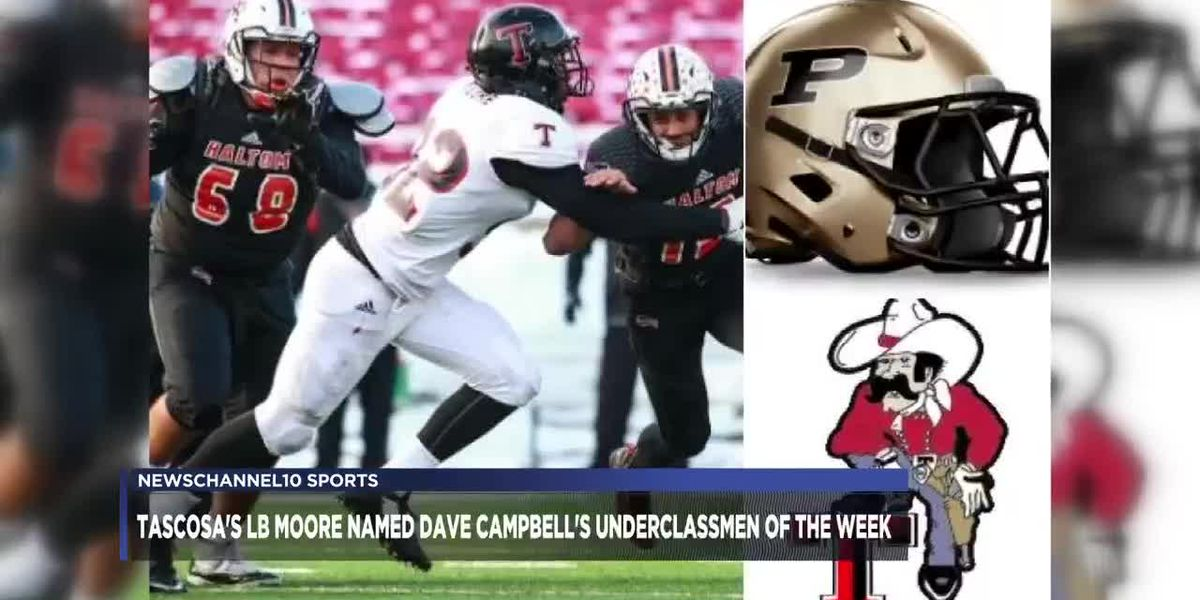 Tascosa's LB Moore named Dave Campbell's Underclassmen of the Year