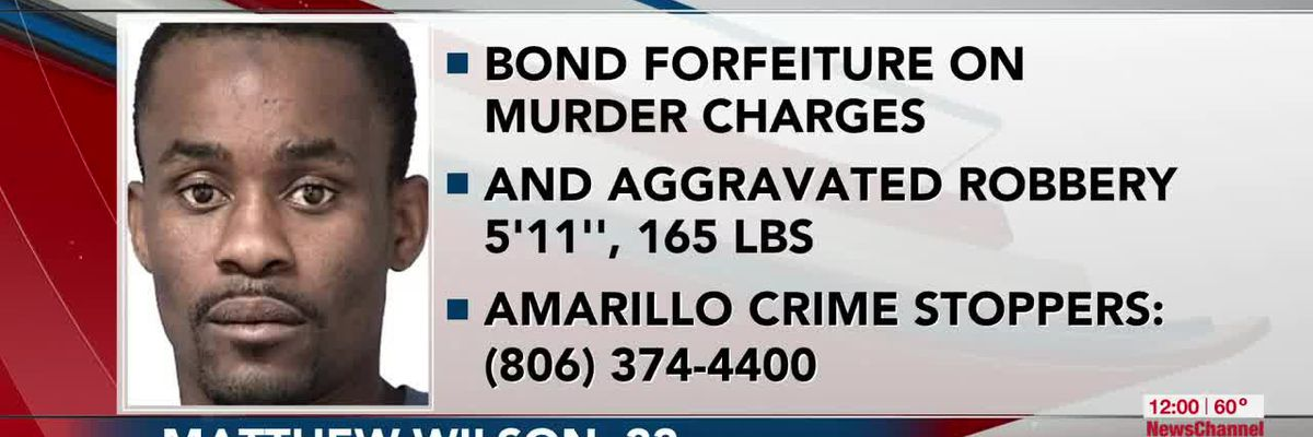 VIDEO: Officials: Man wanted for bond forfeiture on murder and aggravated robbery charges