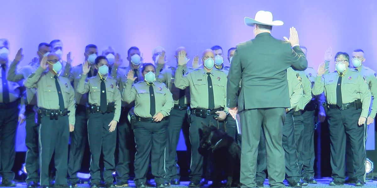 New Panhandle county sheriffs' were sworn in today
