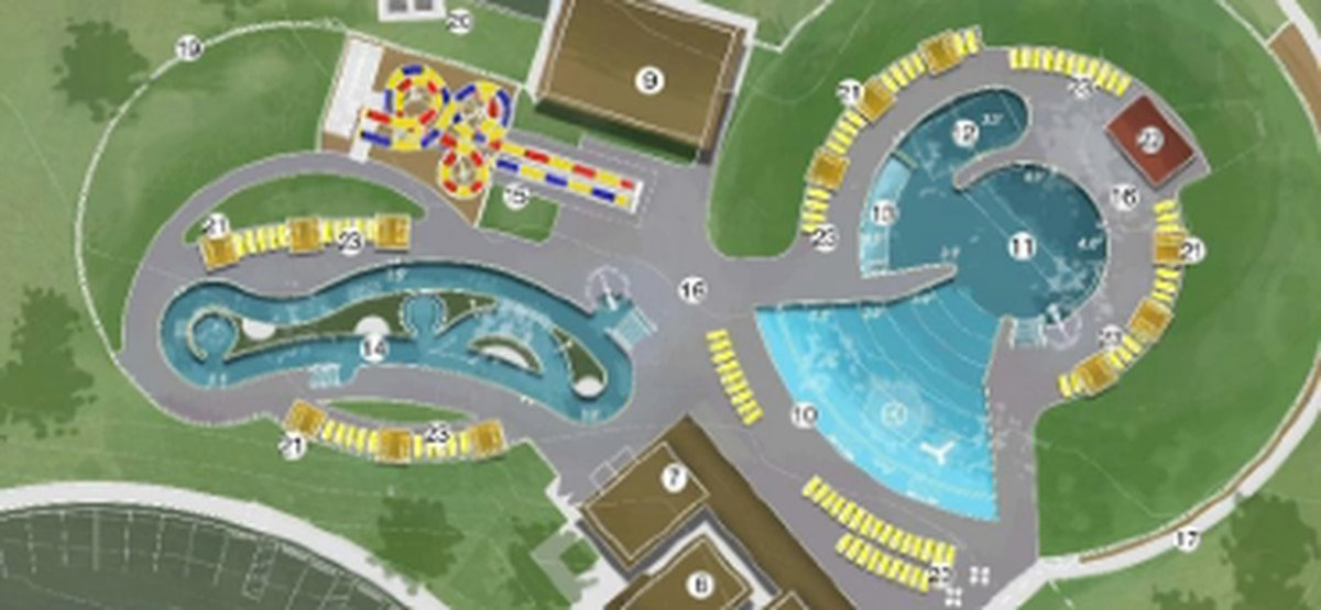 Thompson park pool on schedule to open Memorial day with state of art features