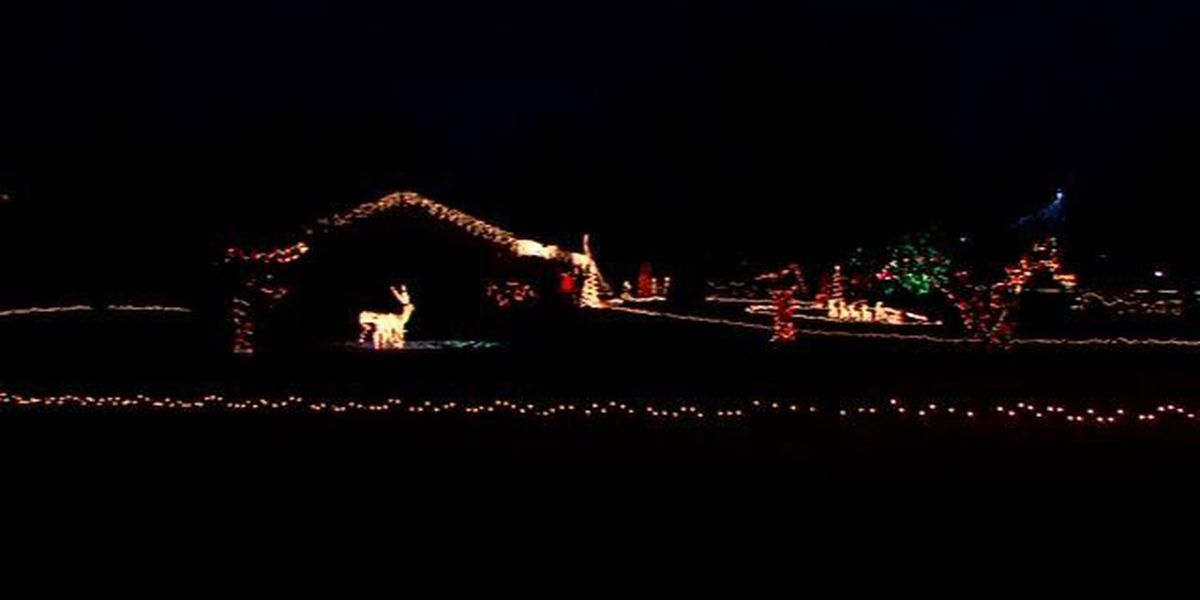 Get in the holiday spirit with the Bishop Hills neighborhood Christmas lights