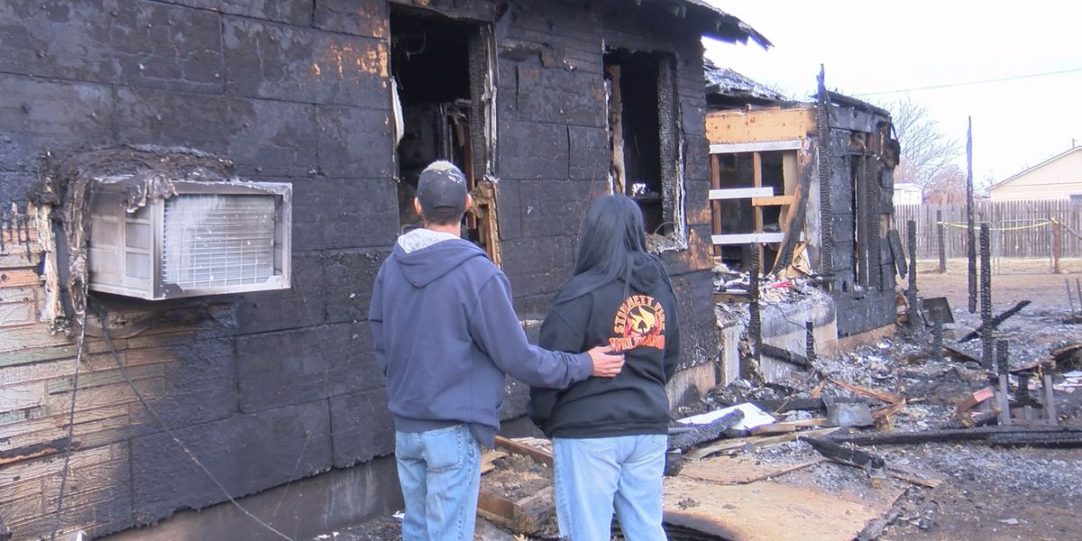 2 Stinnett Firefighters lose their own home in fire