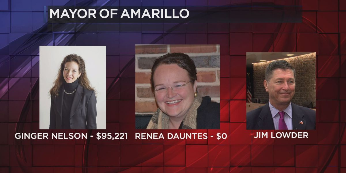 Amarillo council candidates collect over $200,000 in campaign funding