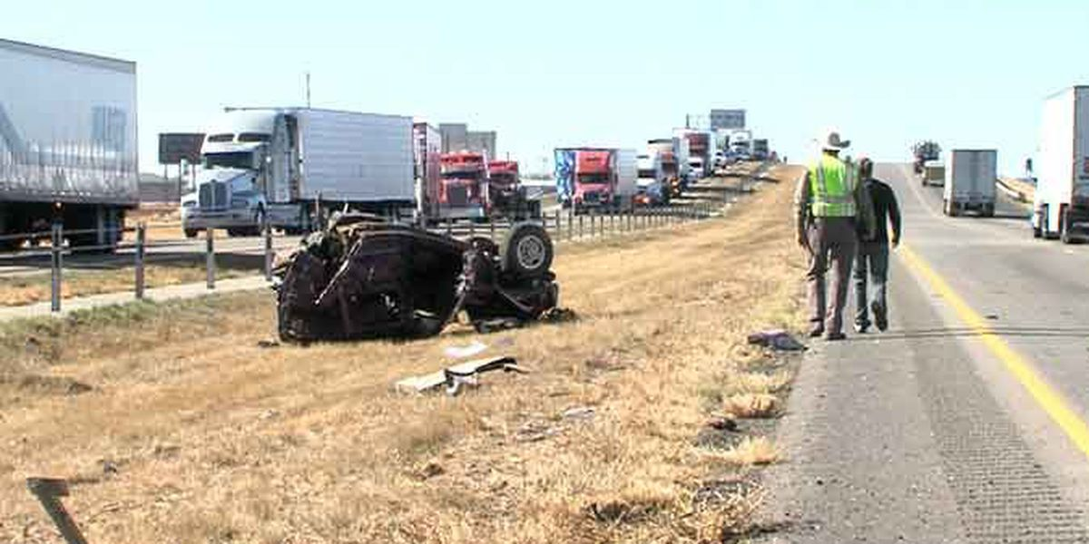 Driver killed on I-40 while making an illegal turn