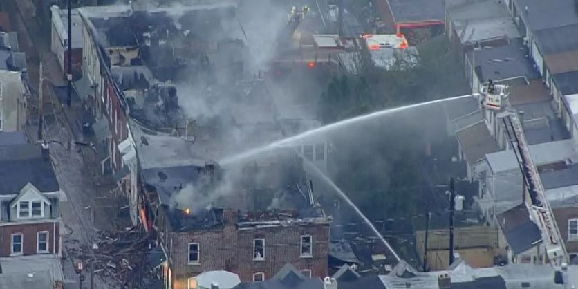 Possible gas explosion in Pa. spreads to at least 10 homes