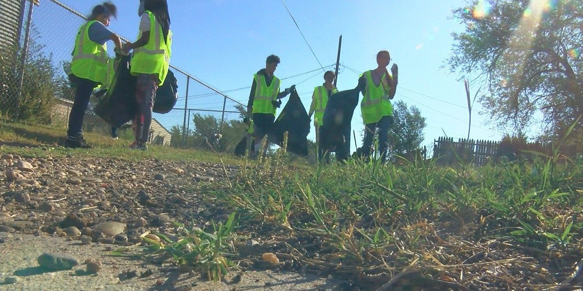 National Cleanup Day: City of Amarillo joins volunteers in cleaning up North Heights