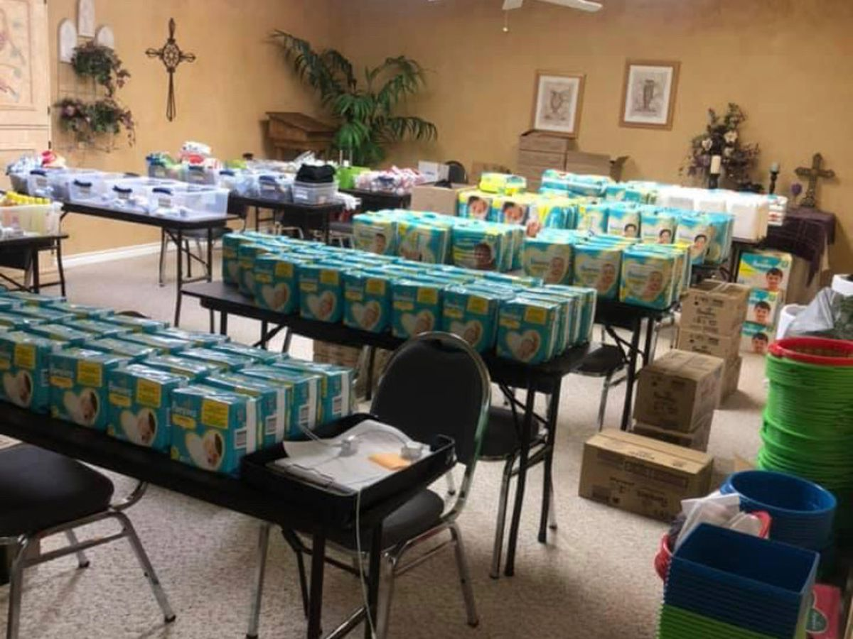 Panhandle pregnancy centers see an increase need for diapers during pandemic