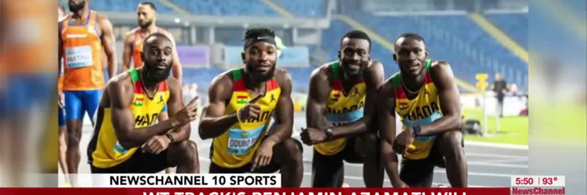 VIDEO: WT track star qualifies for the Tokyo Olympics