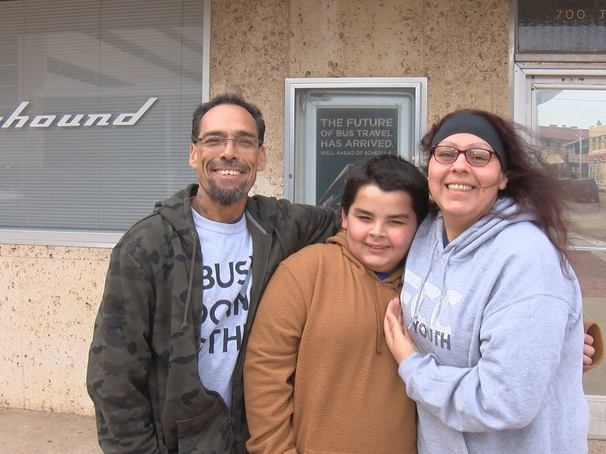 Stranded family begins new chapter of life thanks to the generosity of Amarillo