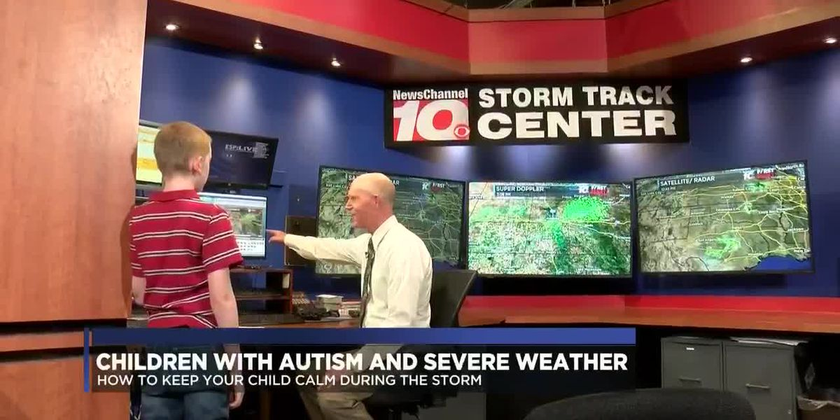 Children with autism and severe weather: Keeping them calm during the storm