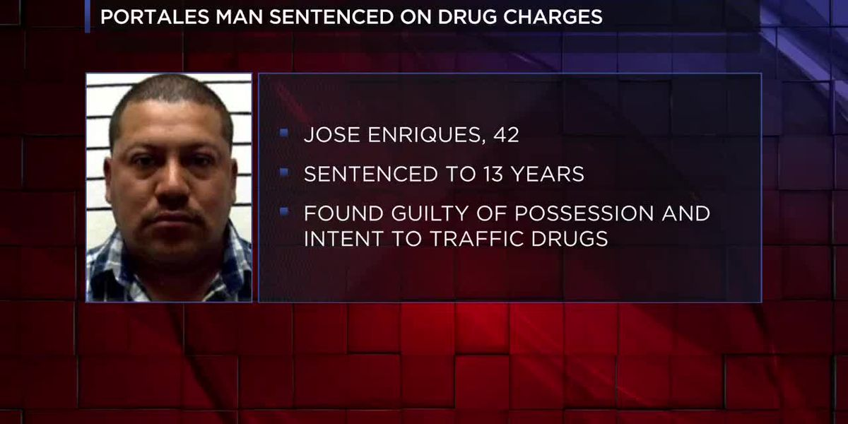 Portales man to spend 10 years in prison for drug trafficking