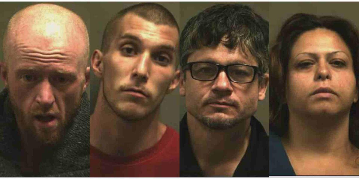 Four arrested on charges of sexual assault, human trafficking