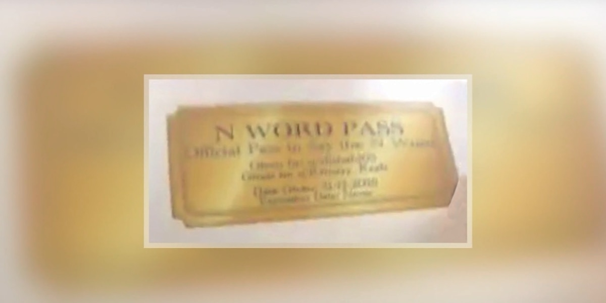 Student distributes 'n-word pass' at Wisconsin high school, could face legal trouble