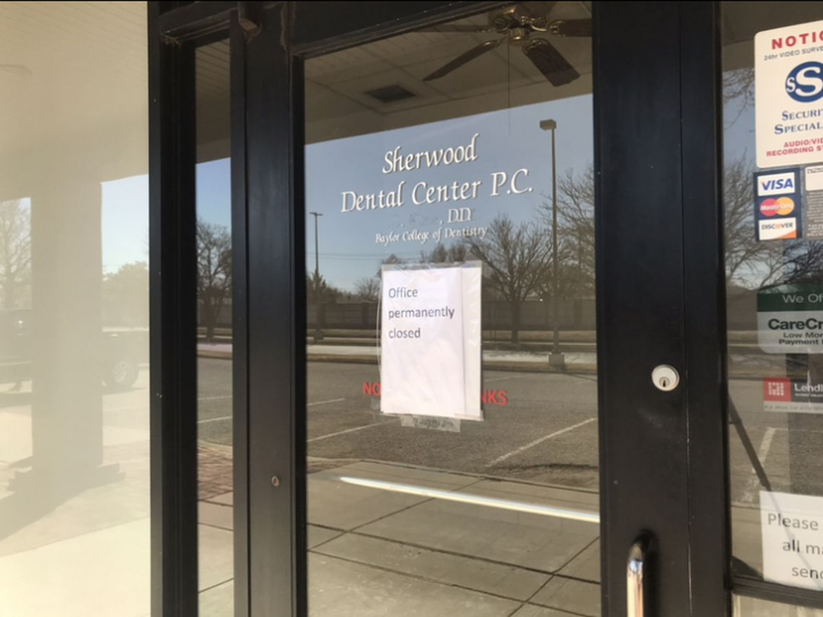 Sherwood Dental Center closure without notice leaves clients angry and confused