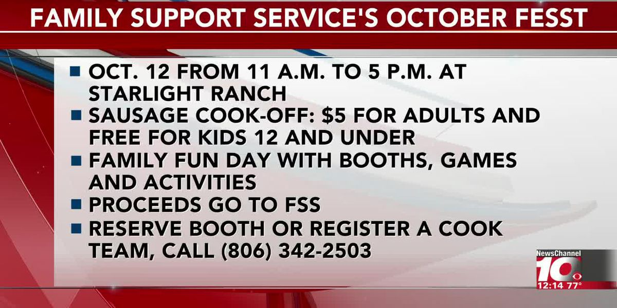 INTERVIEW: Amy Hord gives the details about Family Support Service's October Fesst