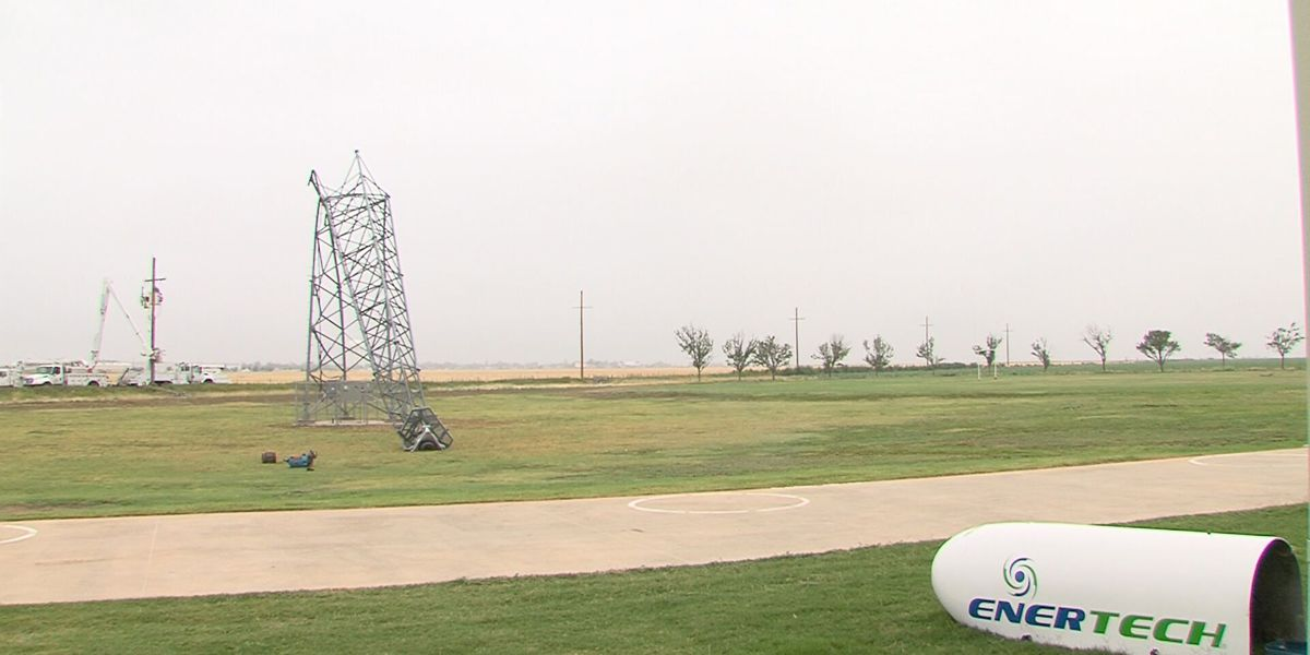 Pampa businesses and facilities start to recover from storm