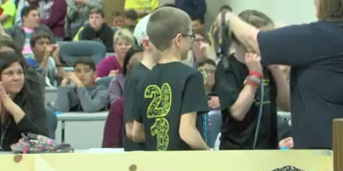 Area schools show their STEM skills in robotics competition