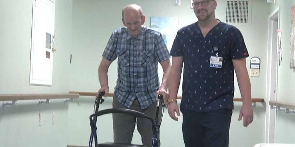 Visitors at nursing homes must take precautions before seeing their loved ones