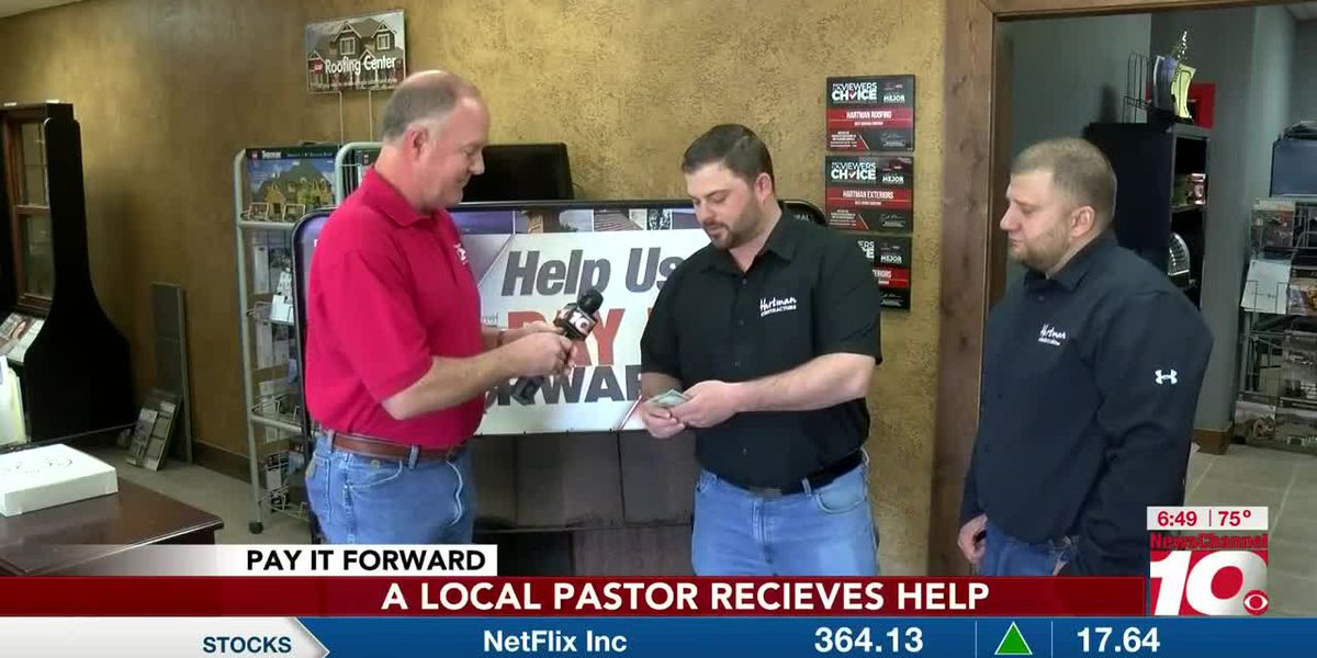 VIDEO: Playmaker Pays it Forward to neighborhood pastor