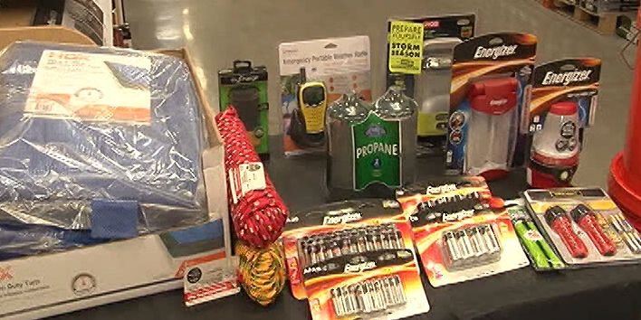 Emergency preparation supplies available for Texas sales tax holiday