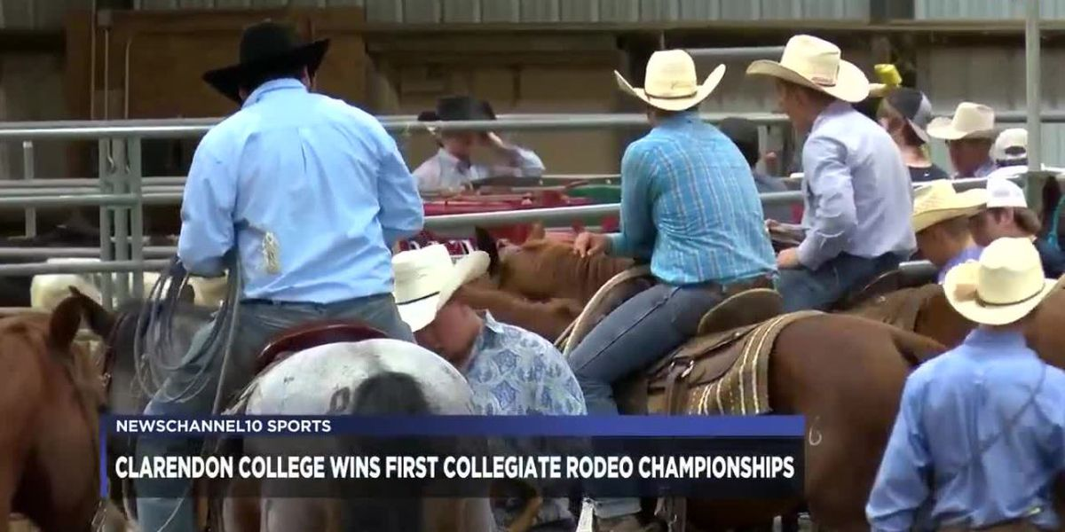 Clarendon College wins first collegiate rodeo championships