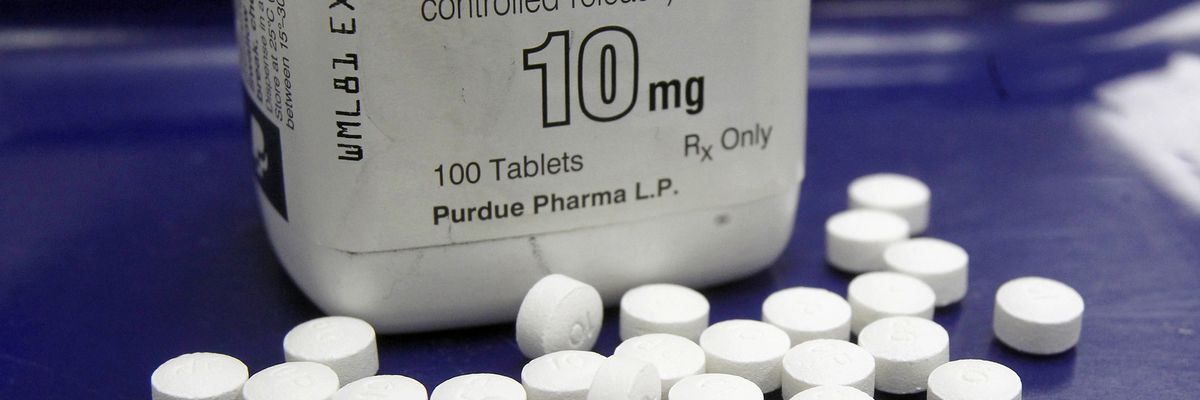 After bankruptcy filing, maker of OxyContin may not be off hook