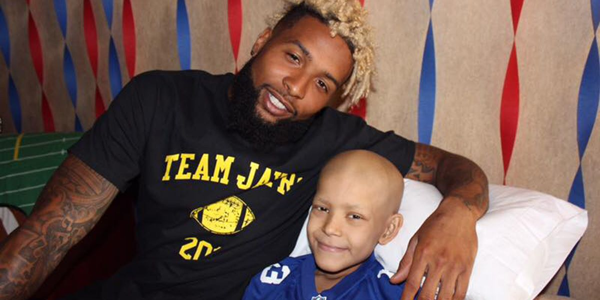 Odell Beckham Jr. makes local boy's dream come true