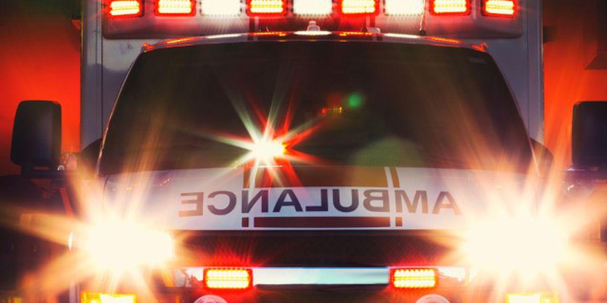 Amarillo man hospitalized after motorcycle crash Wednesday evening